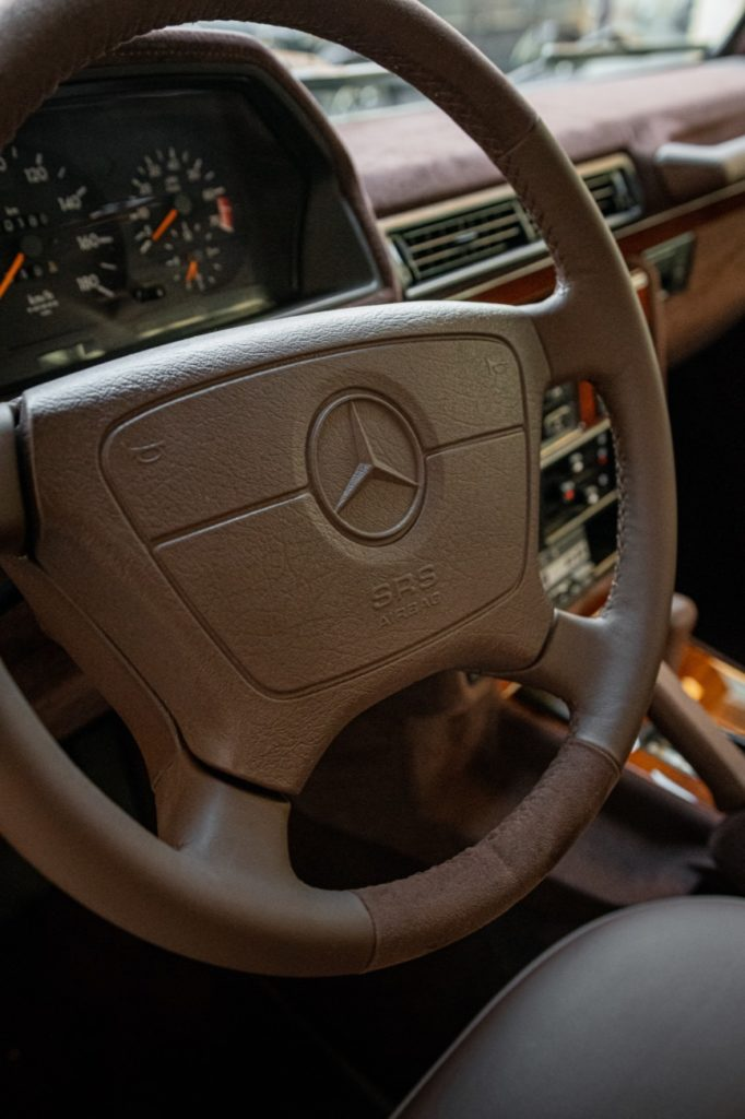 Mercedes G Class series W463 in golden brown